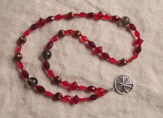 OOAK Loki Pagan Prayer / Meditation Beads Trickster by TheCairn