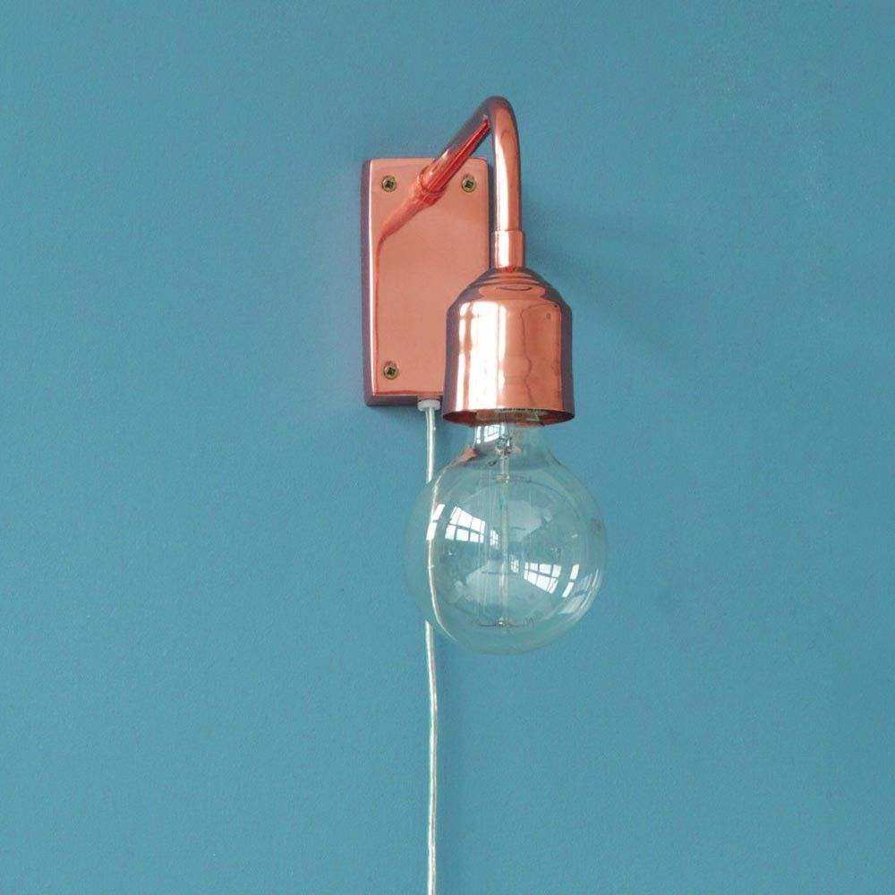 Pin By M Dulak On Stage 1 Ensuite Bathroom Copper Wall Light Wall Lights Sconces