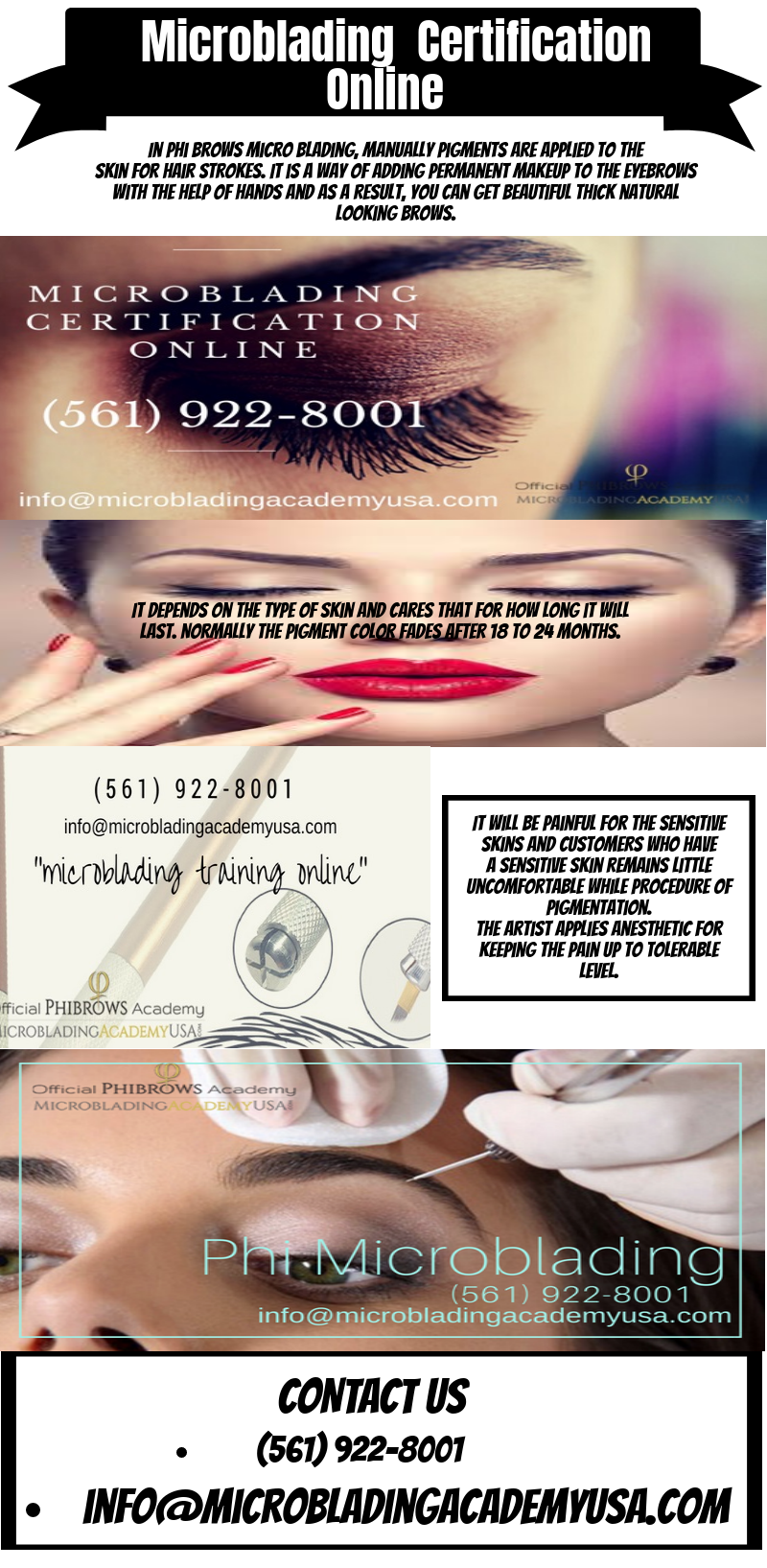 USA Based Official Microblading Online Training Academy We