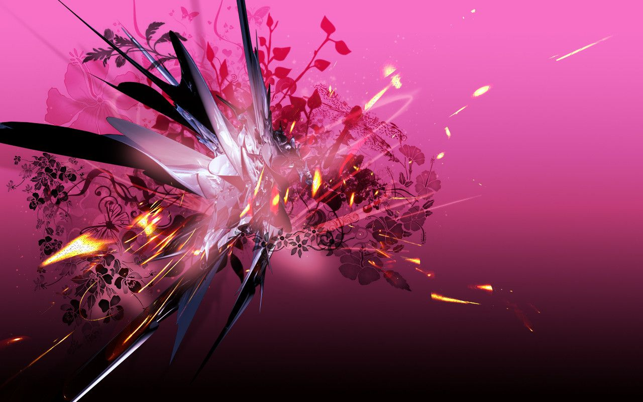3d pink abstract pink 3d abstract high res hd hot - High quality 3d wallpapers for pc ...
