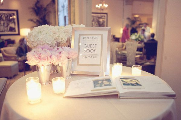 Portland Wedding by Emily G Photography | Guest book table, Floral ...