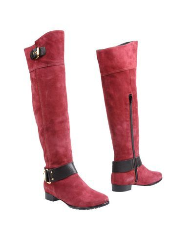 Red boots from Napoleoni