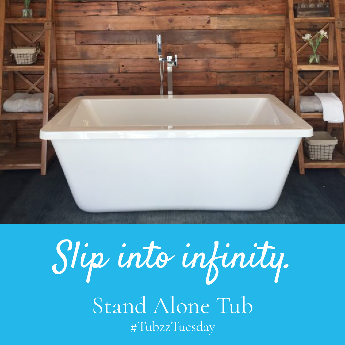 Check out \'Infinity\' our new stand alone tub. #TubzzTuesday ...