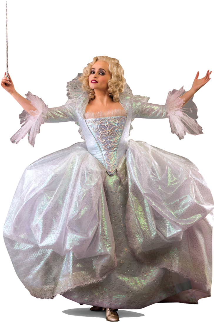 Helena Bonham Carter As Fairy Godmother Png By