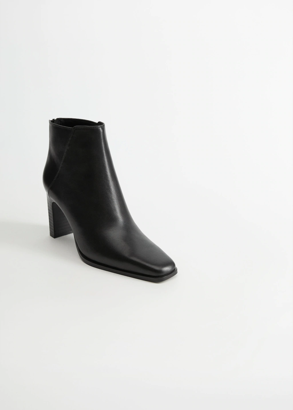 Skorzane Botki Na Obcasie Kobieta Mango Polska Boots Womens Boots Ankle Leather Ankle Boots