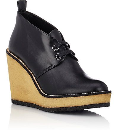 Robert Clergerie Aroa Wedge Chukka Boots - Ankle Boots - Barneys.com