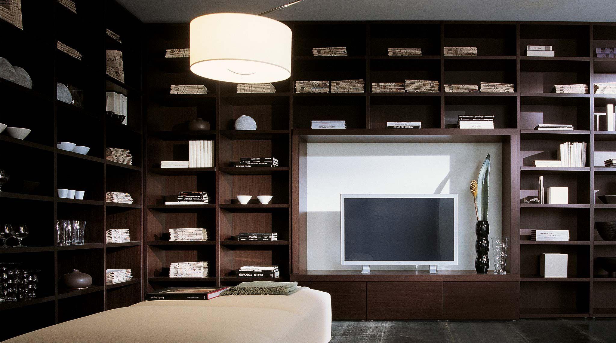 Vendita Librerie In Legno.Libreria In Legno Componibile A Parete Wood Librerie Design E