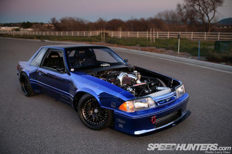 Chrome Fox Body Mustang Drift Cars Pinterest Fox Body