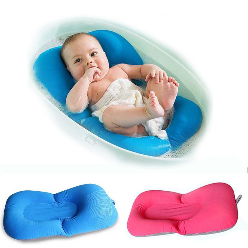 Baby Bathtub Baby Bath Bloom Neworn Bathing Pad Mat Infant Safety ...