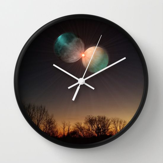 Collide Wall Clock