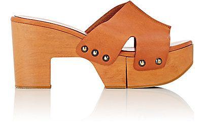 Robert Clergerie Cetri Platform Clog Sandals - Platforms - Barneys.com