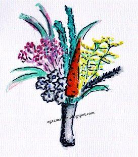 bukiecik z marchewką