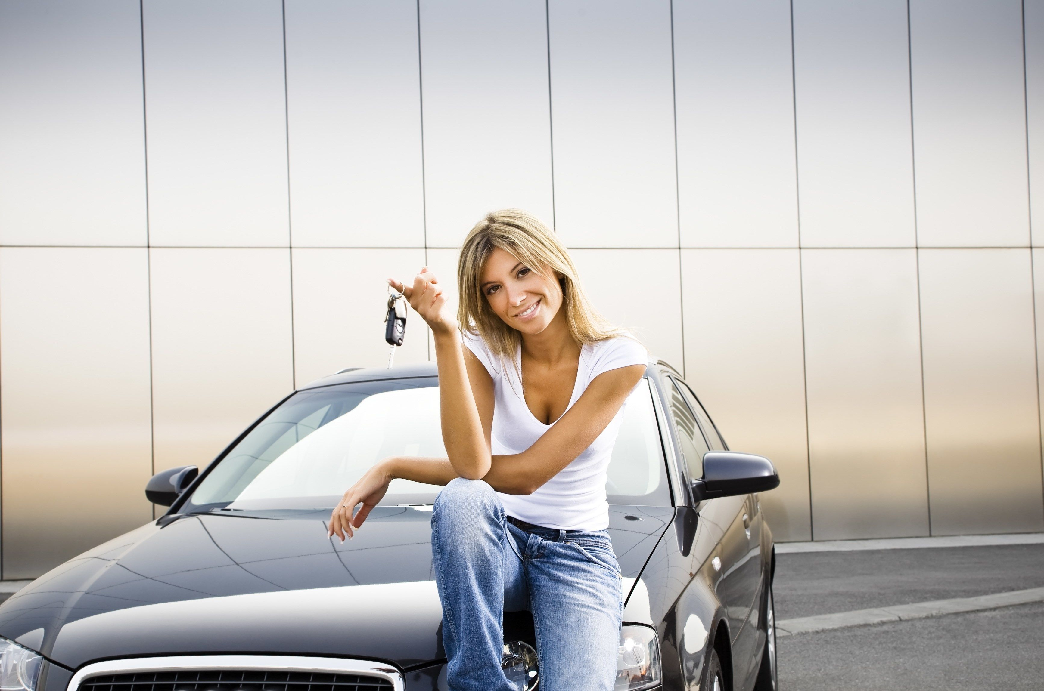 girls and cars (With images) | Cheap car insurance, Cheap ...