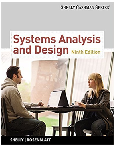 Get Full Textbook Solutions From Systems Analysis And Design 9th Edition Shelly Cashman Gary B Shelly And Har Test Bank Free Textbooks Analysis