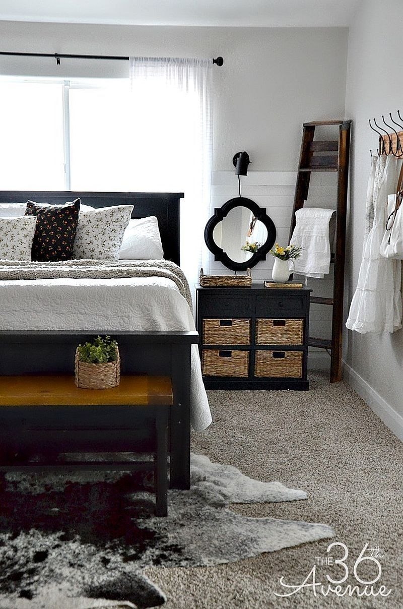 47 Elegant Modern Farmhouse Style Bedroom Decor Ideas