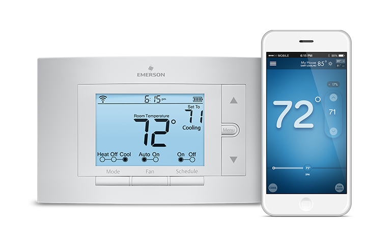 Sensi Thermostat From Emerson Wifi Alexa Home Smart Home