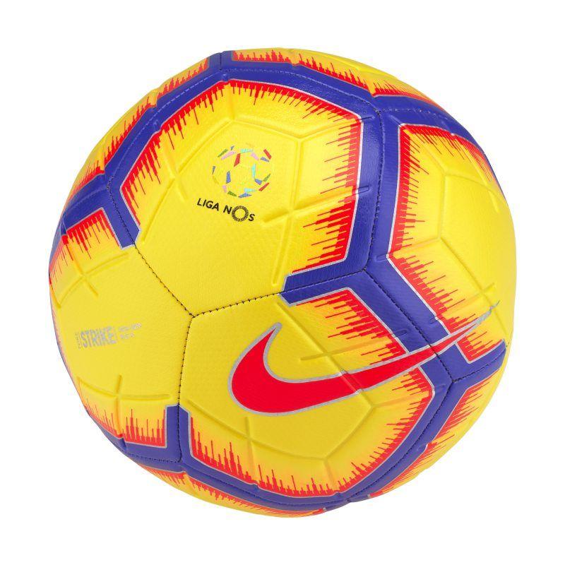 Liga Nos Strike Football Yellow Soccer Ball Soccer Ball