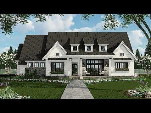 House Plan 42691 Country Farmhouse Traditional Plan With 2287 Sq Ft 3 Bedrooms 3 Farmhouse Style House Farmhouse Style House Plans Modern Farmhouse Plans
