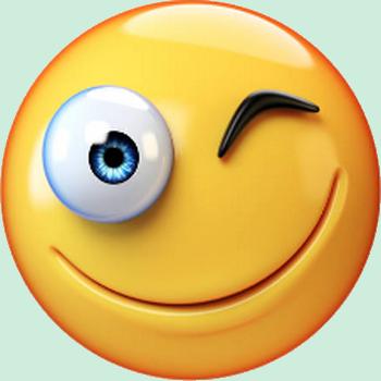 Er smiley jaune clin d 39 oeil motic ne clipart cartoon - Image smiley gratuit ...