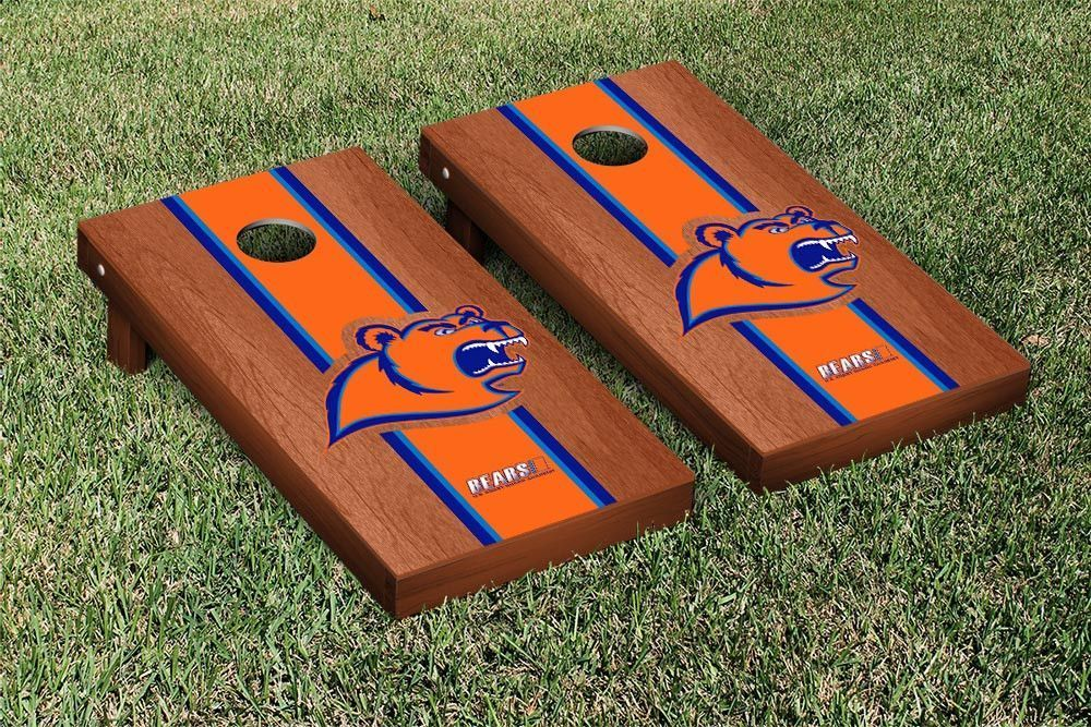 USCGA Bears Rosewood Varsity Stripe Bag Toss Game