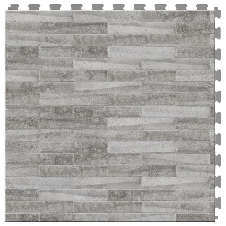 Shop perfection floor tile lvt 6 piece 20 in x 20 in light gray shop perfection floor tile lvt 6 piece 20 in x 20 in light dailygadgetfo Images