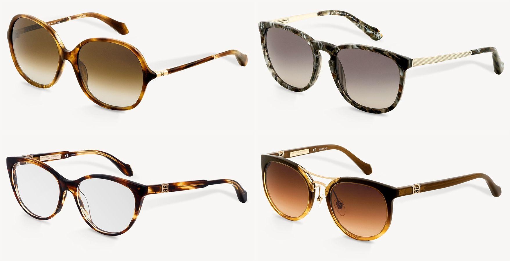 75428953c2e9e Os óculos Carolina Herrera representam a mulher contemporânea, que segue  tendências mas que tem estilo