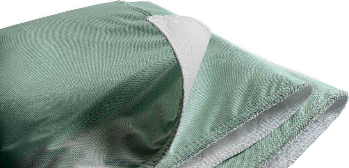 Medline MDTIU4TEFGRE Triumph Reusable Underpads Bed