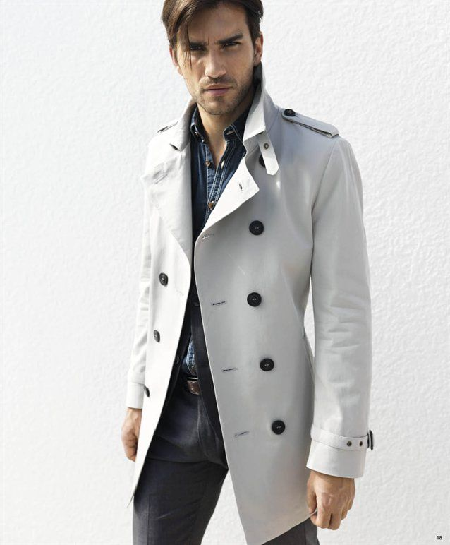 f2b11316c Modern Trench Coat-Love the cut! Would love it in Navy with White ...