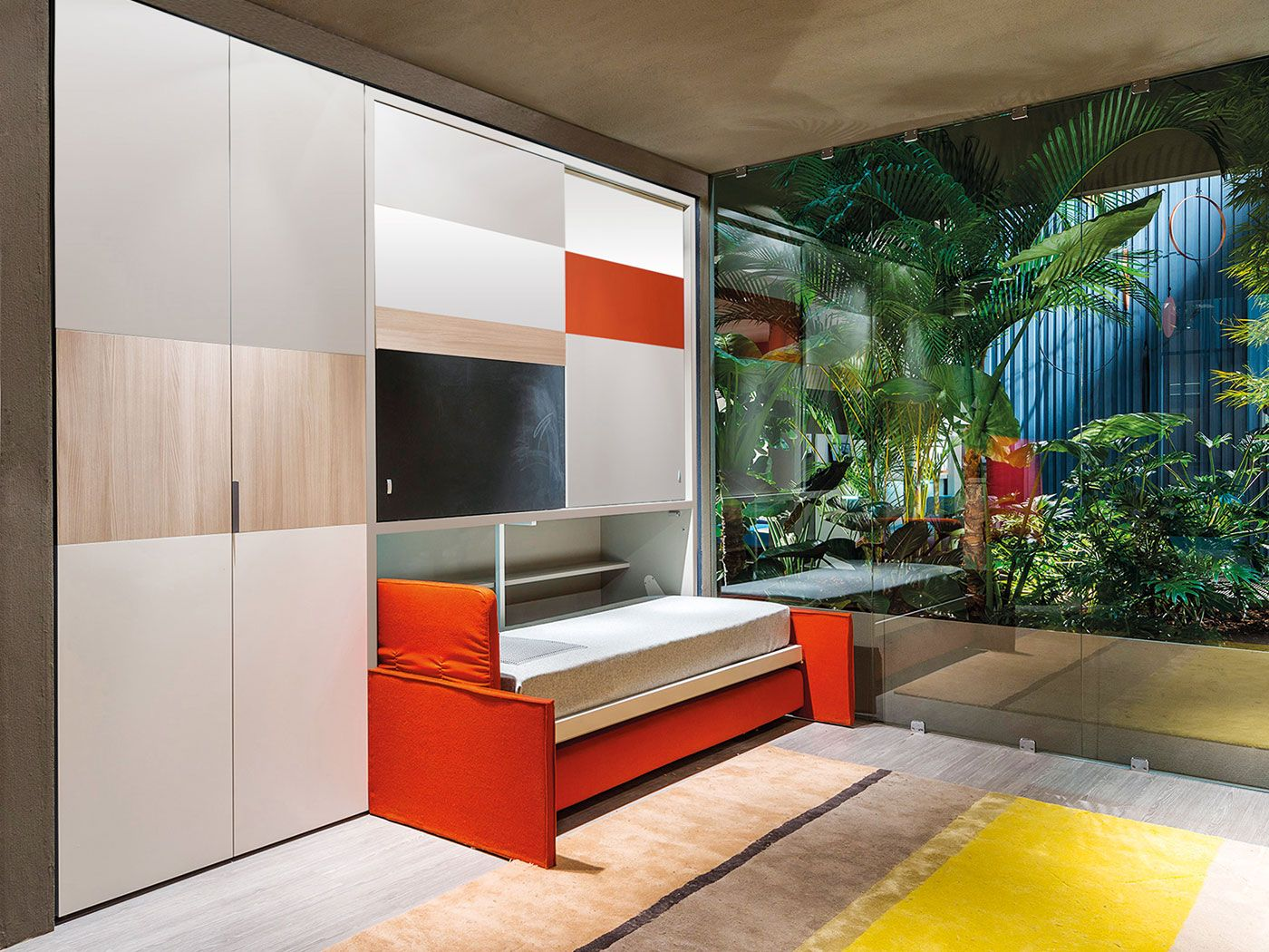 Ferrimobili Opinioni ~ The children bedroom is composed by: desk that becomes a single