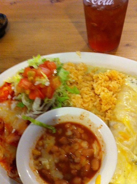 Mama S Mexican Restaurant El Paso Eats Green Chicken