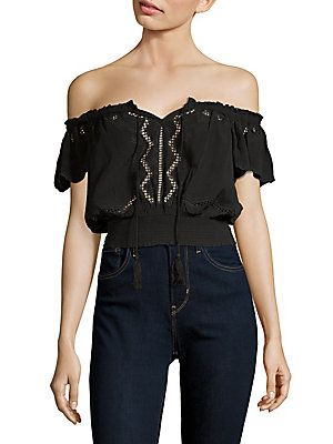 020bb24a4f3cf ASTR REYNA EMBROIDERED OFF-THE-SHOULDER TOP.  astr  cloth