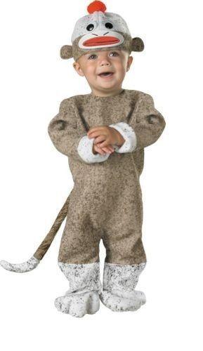 Sock Monkey Costume Baby Infant Halloween Unisex Girl Boy 12-18 months toddler #Disguise #CompleteCostume  sc 1 st  Pinterest & Sock Monkey Costume Baby Infant Halloween Unisex Girl Boy 12-18 ...