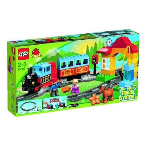 Lego 10847 duplo mon premier numéro train jouet avec numéro décoré de briques early