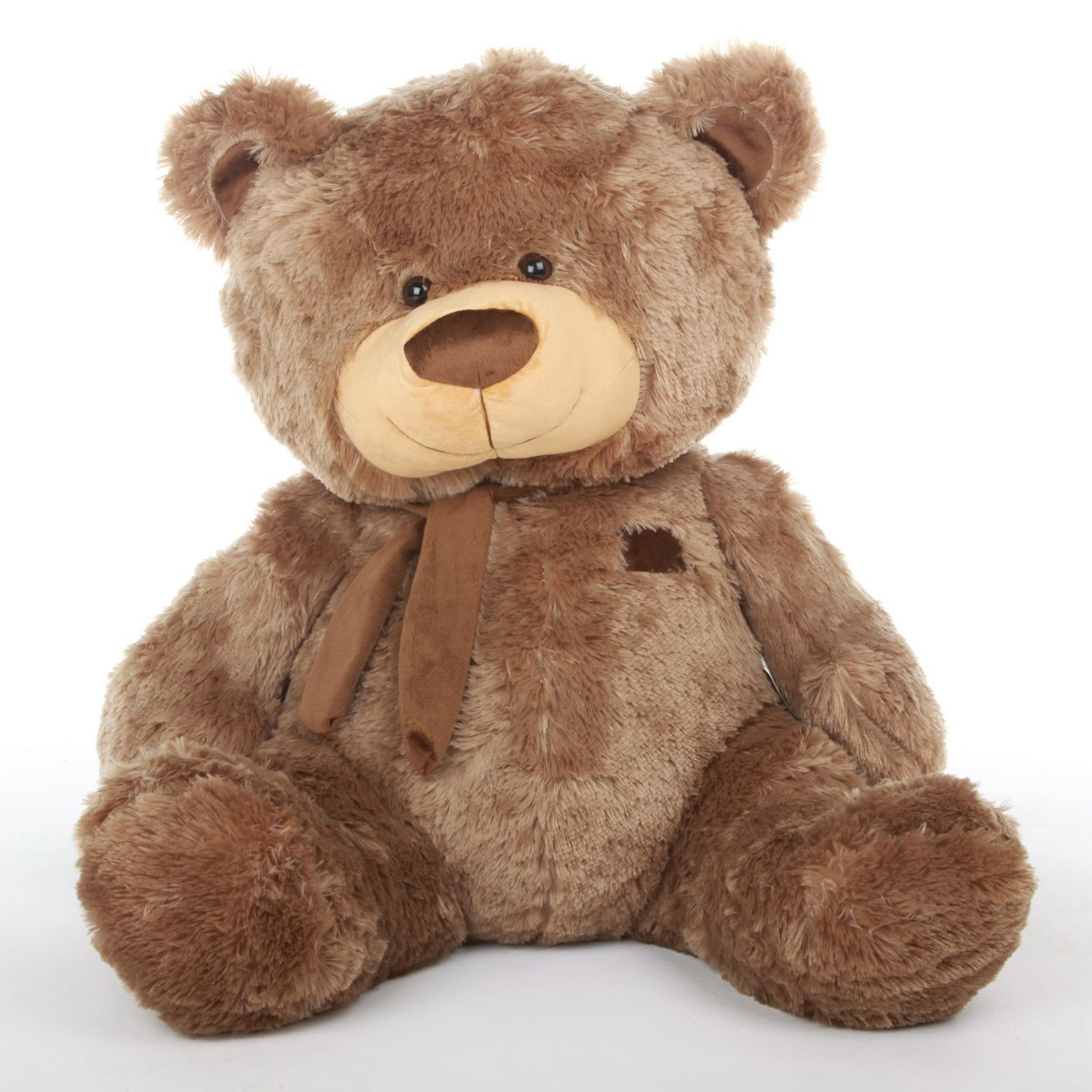 af2c92c28f703 Giant Teddy - Sweetie Tubs Extra Cuddly and Giant Mocha Brown Teddy Bear 52  inch - Giant Teddy