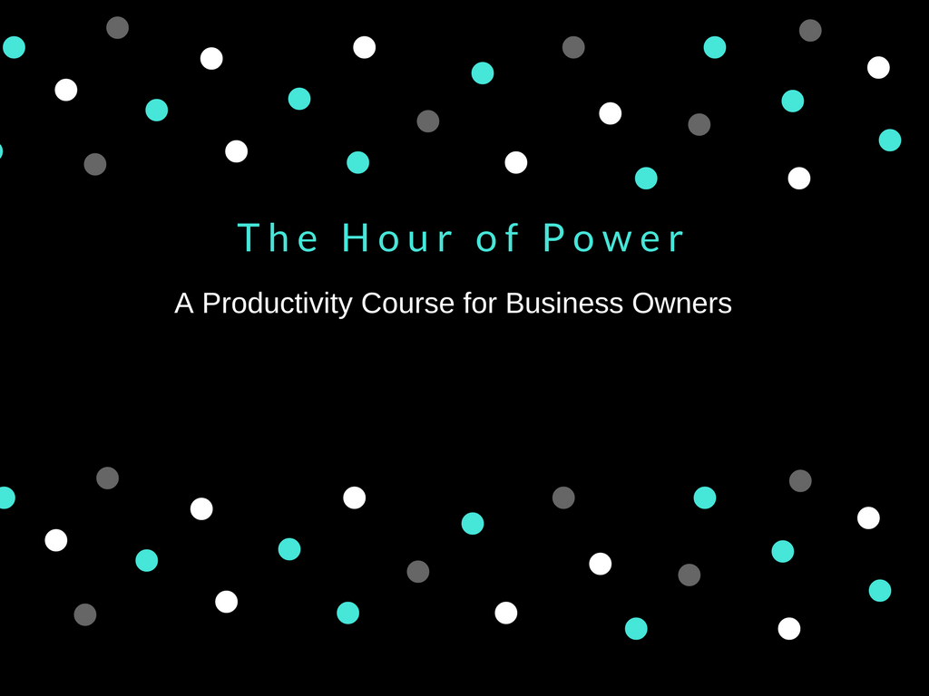 Slides for FREE Hour of Power Course Freelance writing
