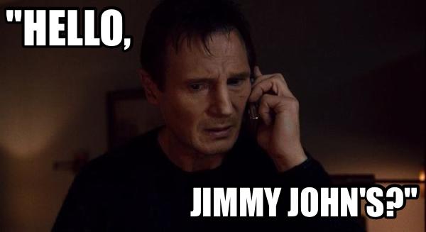 Hello Jimmy John S Funny Food Meme Food Memes Jimmy Johns Sweet Memes
