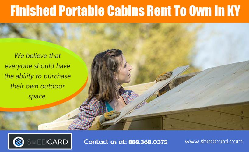 Our Website: https://www.shedcard.com Rent to own cabins ...
