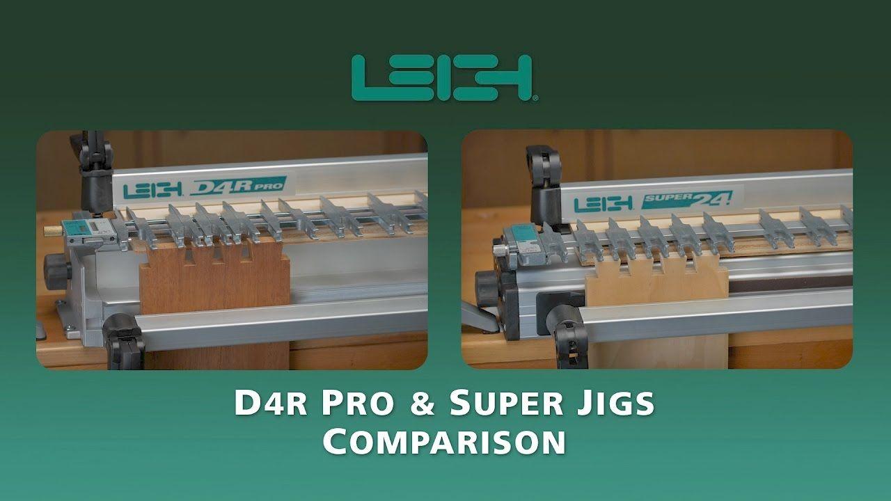Leigh D4r Pro Super Jigs Comparison Jigs Router Jig Router