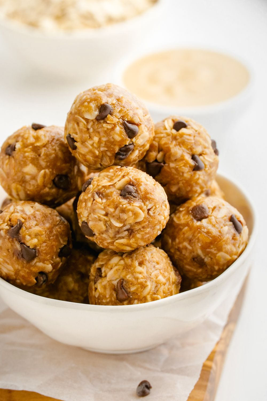 Peanut Butter Protein Balls (gluten-free, vegan options) - Texanerin Baking