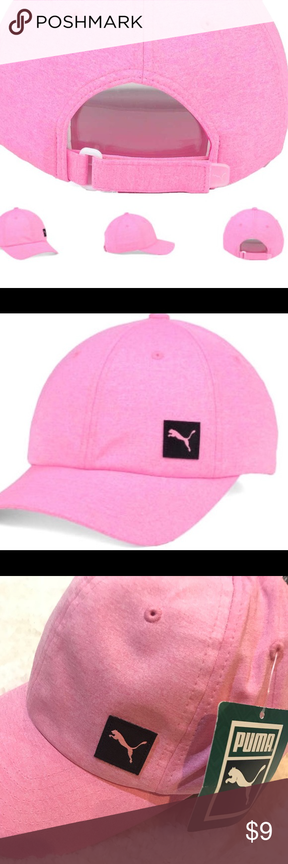 033062125b9 Puma Women s Culture 6 Panel Adjustable Cap Style  20892441 Color  Pink  Material  Made of 90% Polyester