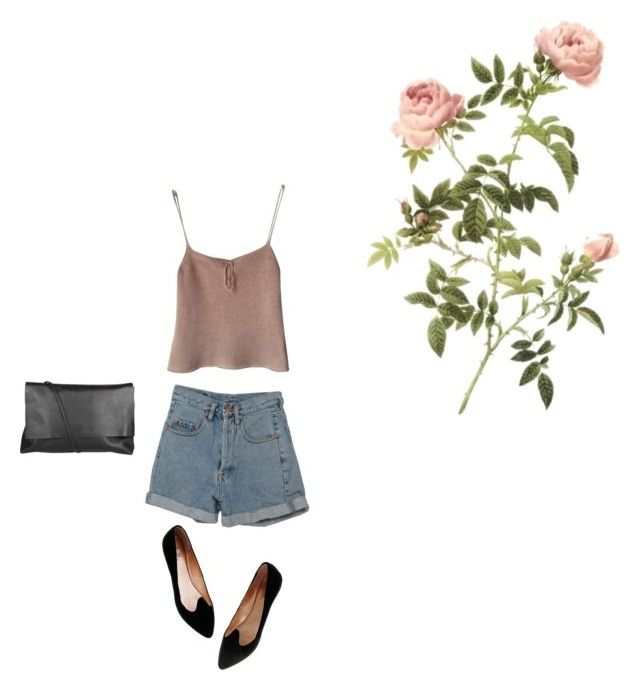 """""""Untitled #6621"""" by dreamer-in-paris ❤ liked on Polyvore featuring Donna Karan, PèPè, Madewell and Arlington Milne"""
