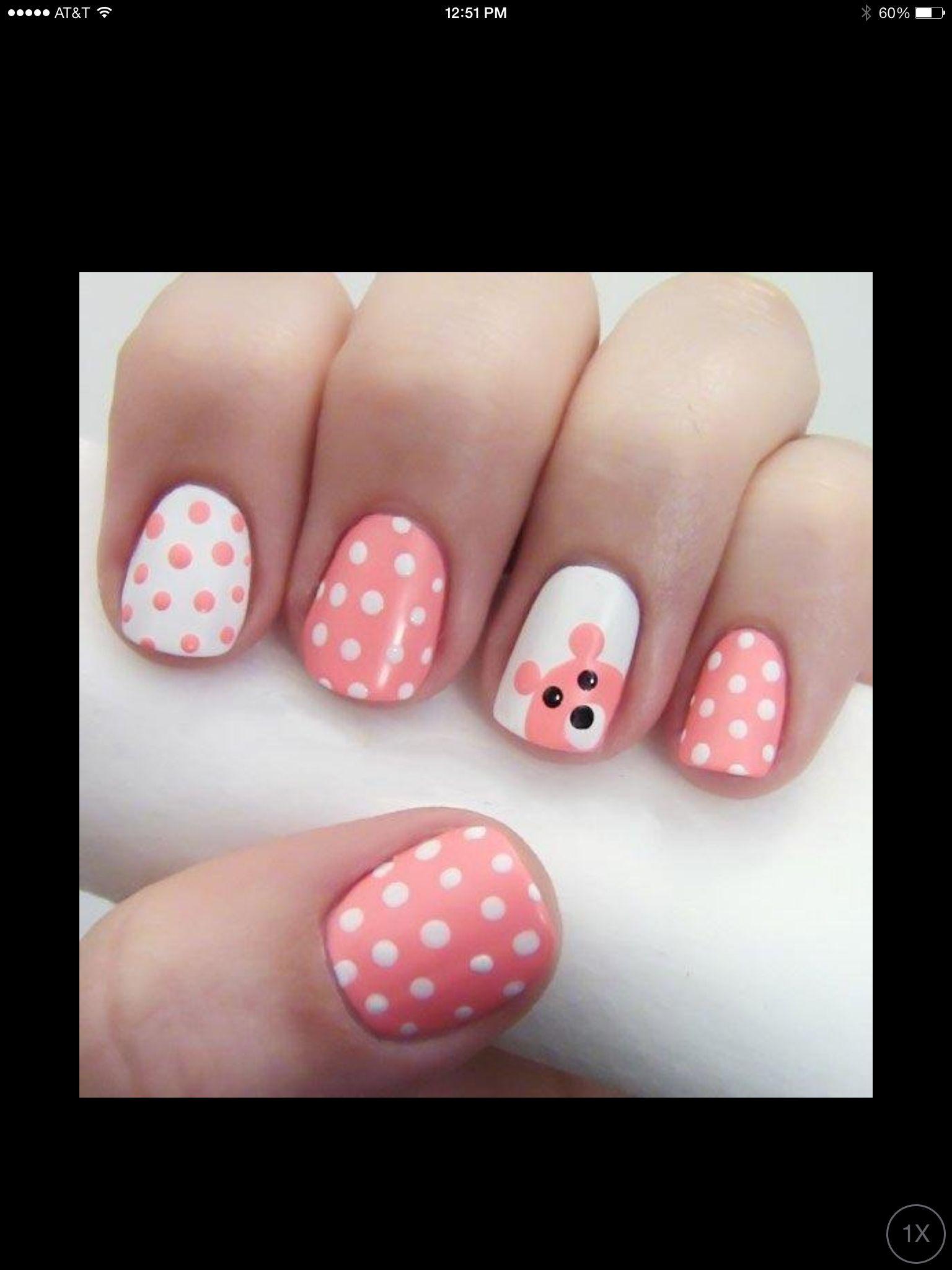 Little ones nail art