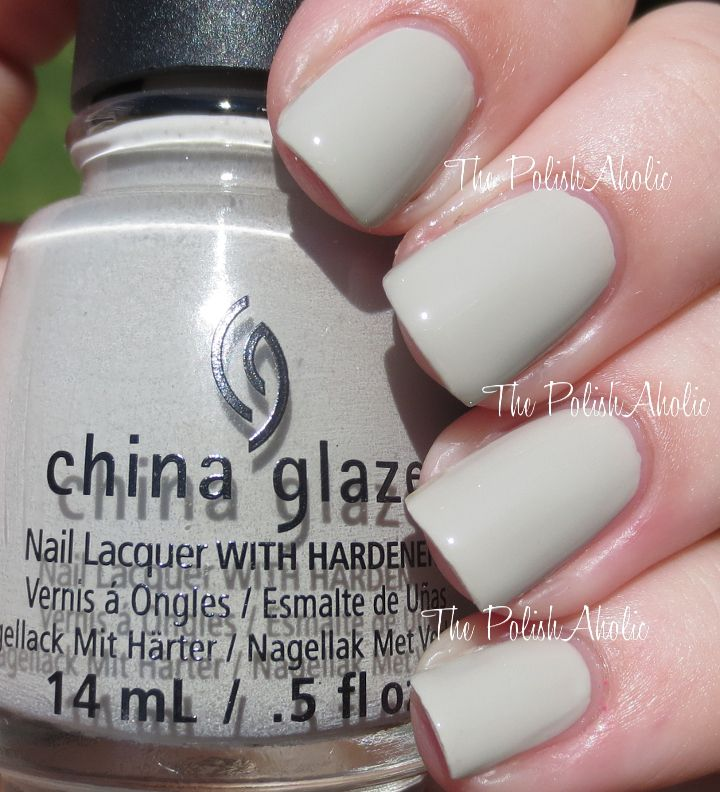 China Glaze Grey Nail Polish: China Glaze 'The Giver' Collection: Five Rules Is A Light
