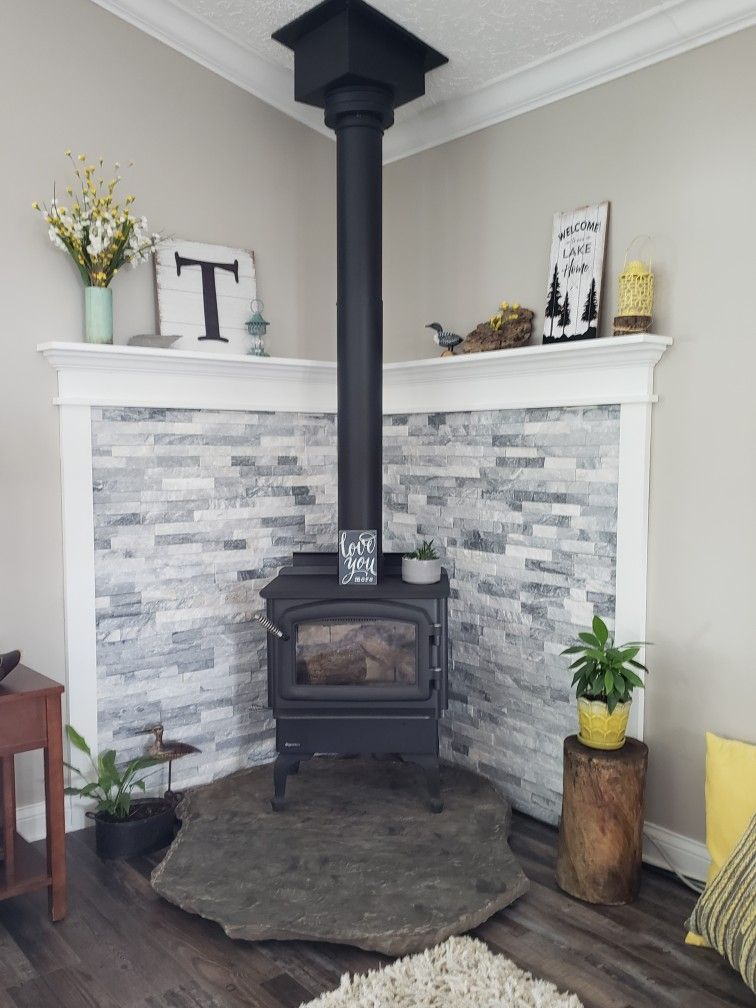 Corner Wood Stove Wood Stove Corner Wood Stove Wood Burning Stoves Living Room