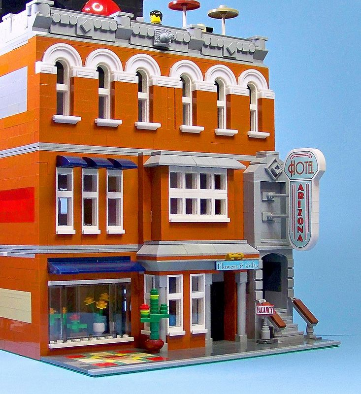 Lego Hotel Arizona 02 | by 60sfunnycars
