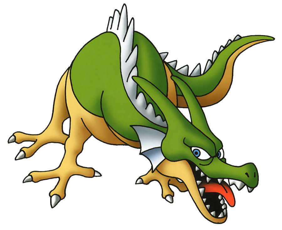 File Dq Green Dragon Png Dragon Quest Green Dragon Dragon Warrior Monsters
