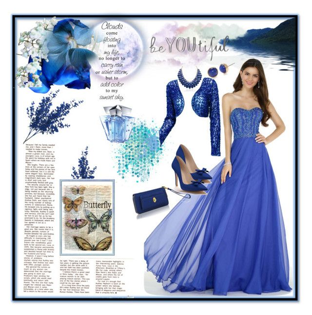 """""""Royal Beauty"""" by lawvel ❤ liked on Polyvore featuring Alyce Paris, Shoes of Prey, Adoriana, Alivila.Y Fashion, MKF Collection, Kate Spade and Thierry Mugler"""