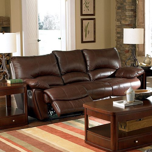 Sectional Sofa Found it at Wayfair Red Bluff Bonded Leather Dual Reclining Sofa