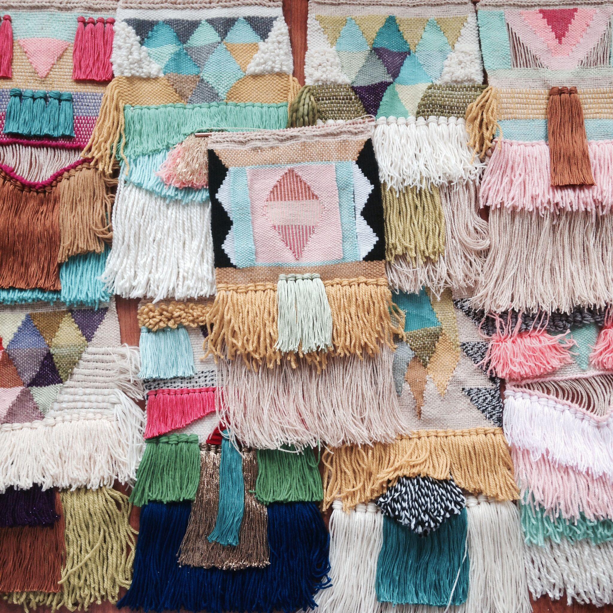 Weavings by Maryanne Moodie  www.maryannemoodie.com ✌️