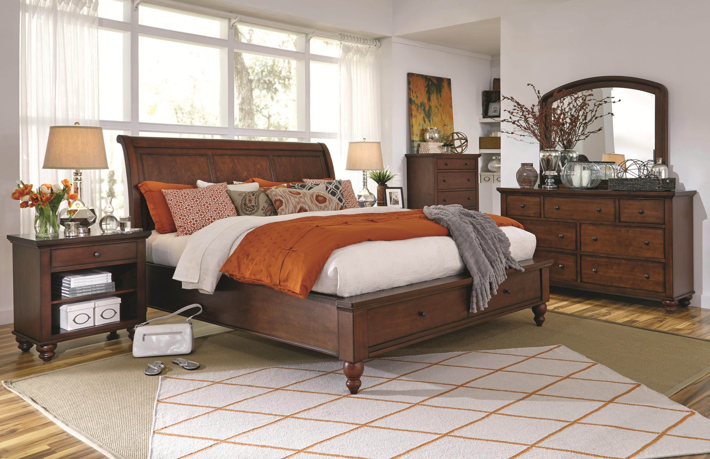 Cambridge Queen Bedroom Group By Aspenhome Bedroom Set